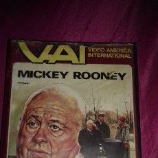 Cine: ANTIGUA CINTA DE PELICULA VHS BILL D3 MICKEY ROONEY AÑO 1984.USADA. Lote 174521037