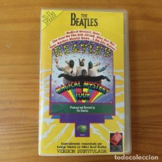 Cine: THE BEATLES, MAGICAL MYSTERY TOUR. VIDEO VHS APPLE VERSION SUBTITULADA. Lote 175006649
