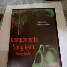 Cine: VHS CAMPAMENTO SANGRIENTO. Lote 175115839