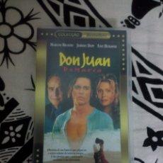Cine: VHS DON JUAN DE MARCO. Lote 175234264