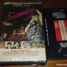 Cine: SANDY - SANDY STEVENSON , MICHEL GALABRU , VHS FEM VIDEO - MUSICAL. Lote 175290485