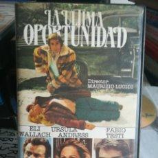 Cine: LA ULTIMA OPORTUNIDAD - REGALO MONTAJE - URSULA ANDRESS, FABIO TESTI, ELI WALLACH. Lote 175348973