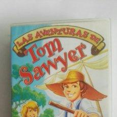 Cine: LAS AVENTURAS DE TOM SAWYER VHS. Lote 175554905