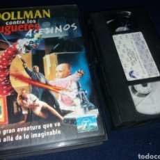 Cine: DOLLMAN CONTRA LOS JUGUETES ASESINOS- VHS- FULL MOON- CHARLES BAND- DESCATALOGADA. Lote 175579537