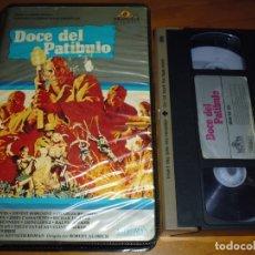 Cine: DOCE DEL PATÍBULO - LEE MARVIN , CHARLES BRONSON - VHS. Lote 175663124