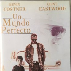 Cine: UN MINDO PERFECTO (CLINT EASTWOOD / KEVIN KOSTNER). Lote 175701833
