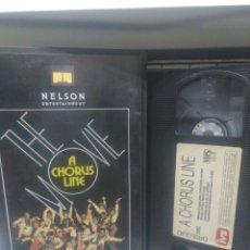 Cine: A CHORUS LINE. VHS. ( IVS). Lote 175849788
