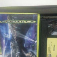 Cine: GOTZILLA. VHS. DIFICIL.. Lote 175850804