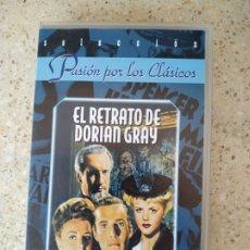 Cine: EL RETRATO DE DORIAN GRAY VHS. Lote 175860372