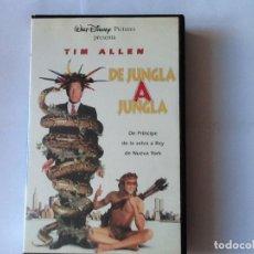 Cine: PELÍCULA WALT DISNEY. VHS, DE JUNGLA A JUNGLA, TIM ALLEN. MARTIN SHORT. Lote 175878264