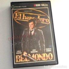 Cine: EL HEREDERO PELÍCULA SUSPENSE JEAN PAUL BELMONDO CARLA GRAVINA DENNER LABRO SOCIEDAD CAPITALISTA VHS. Lote 175884717