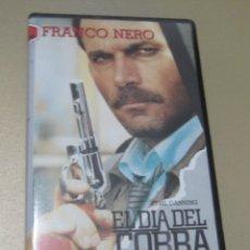 Cine: VHS VIDEO EL DIA DEL COBRA FRANCO NERO NO EDITADA EN DVD . Lote 175951230