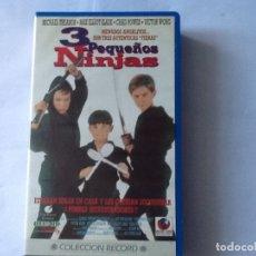 Cine: PELÍCULA VHS. 3 PEQUEÑOS NINJAS, VICTOR WONG, CHAD POWER. . Lote 176033037