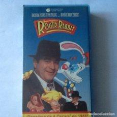 Cine: PELÍCULA VHS. QUIÉN ENGAÑO A ROGER RABBIT. BOB HOSKINS. GANADORA DE 4 OSCAR EN 1988.. Lote 176033393