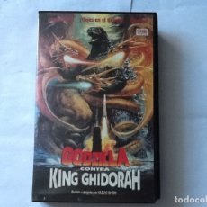 Cine: PELÍCULA VHS. GODZILLA CONTRA KING GHIDORAH. DE KAZUKI OMORI. CON KOSUKE TOYOHARA, . Lote 176033578