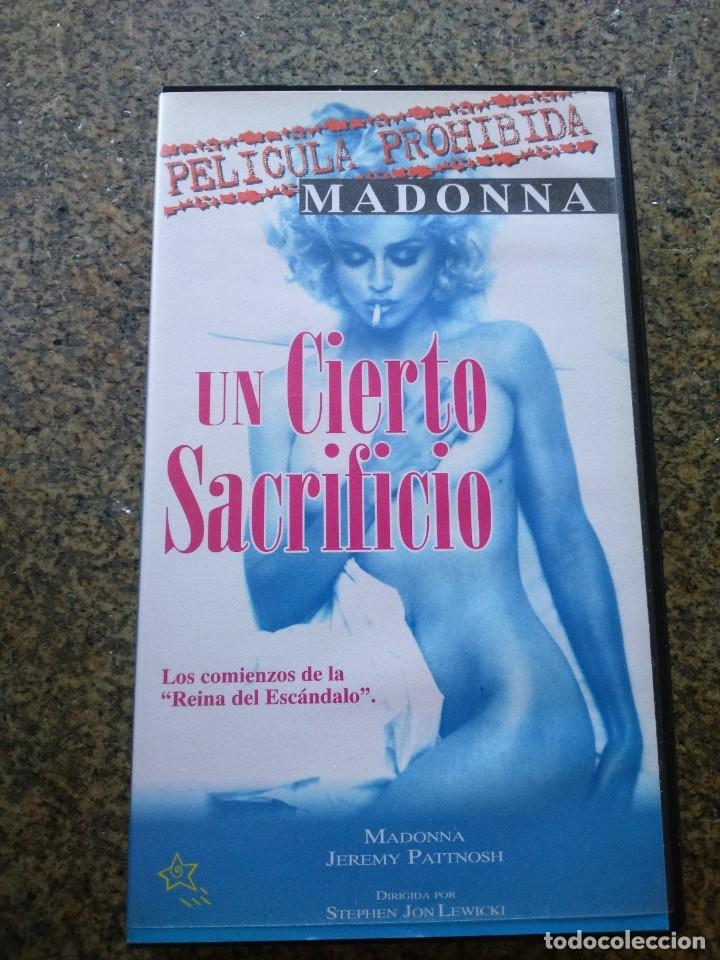 VHS -- MADONNA -- UN CIERTO SACRIFICIO -- PELICULA PROHIBIDA -- 1997 -- (Cine - Películas - VHS)