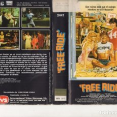 Cine: VHS - FREE RIDE - TEEN MOVIE. Lote 176097890