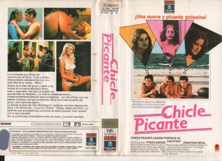 VHS - CHICLE PICANTE - SECUELA DE POLO DE LIMON - TEEN MOVIE (Cine - Películas - VHS)