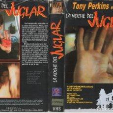 Cine: VHS - LA NOCHE DEL JUGLAR - ANTHONY PERKINS. Lote 176130714