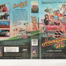Cine: VHS - HOMETOWN USA LA MOVIDA AMERICANA - MAX BAER - TEEN MOVIE. Lote 176140447