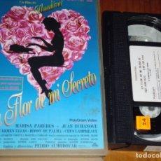 Cine: LA FLOR DE MI SECRETO . PEDRO ALMODOVAR - VHS - PEDIDO MINIMO 6 EUROS. Lote 176157070