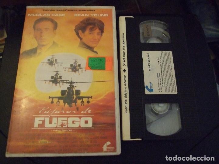 PAJAROS DE FUEGO - DAVID GREEN - NOCOLAS CAGE , SEAN YOUNG - FILMAYER 1991 (Cine - Películas - VHS)