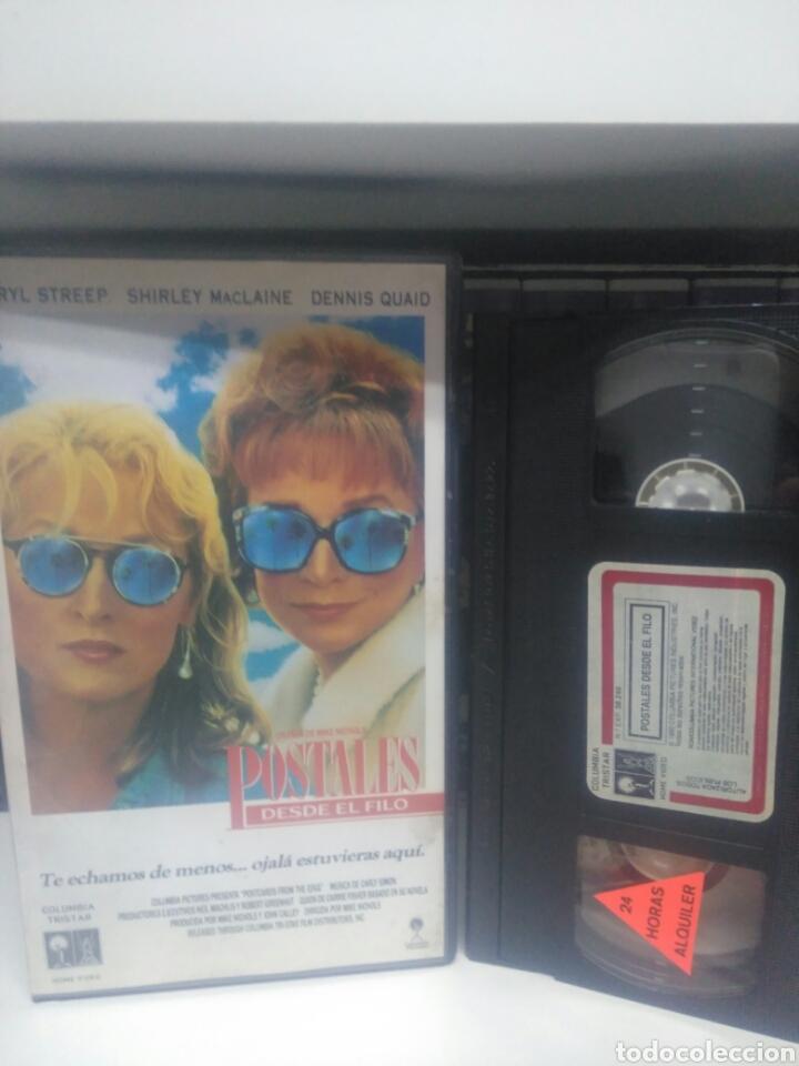 POSTALES DESDE EL FILO. VHS (Cine - Películas - VHS)
