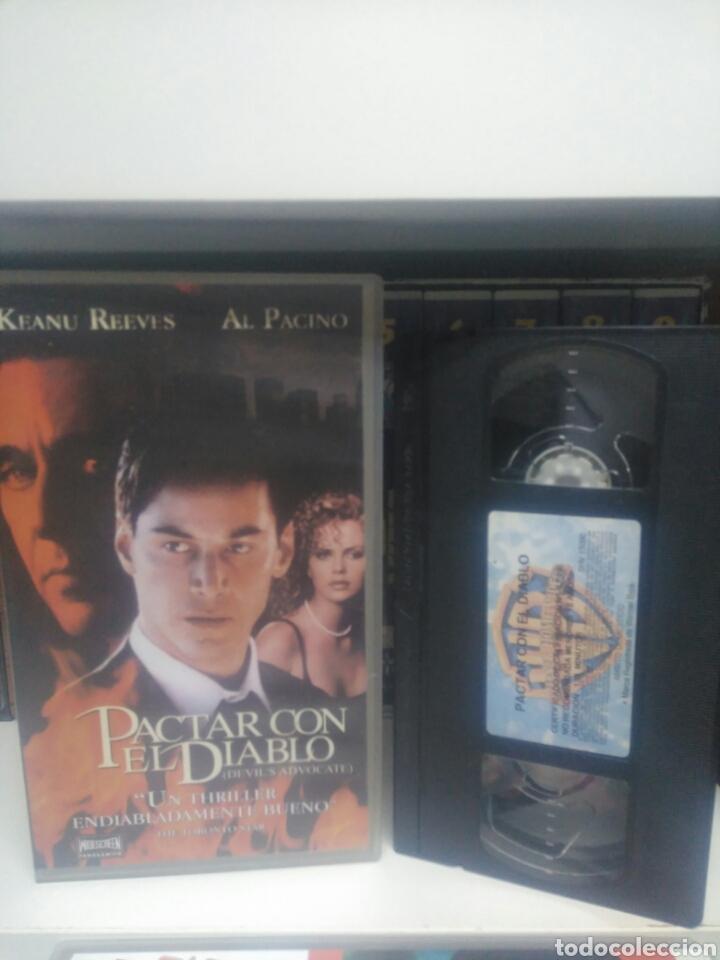 PACTAR CON EL DIABLO. VHS (Cine - Películas - VHS)
