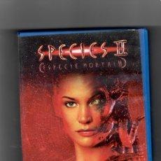Cine: SPECIES II (ESPECIE MORTAL II) , VHS SEGUNDA MANO. Lote 49440780