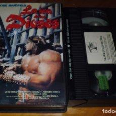 Cine: LA IRA DE LOS DIOSES - CARLO LUDOVICO BRAGAGLIA - VHS. Lote 176400710