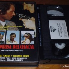 Cine: LA SONRISA DEL CHACAL / ANA , ESE PARTICULAR PLACER - EDWIGE FENECH , RICHARD CONTE - VHS. Lote 176400824