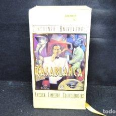Cine: CASABLANCA - VHS . Lote 176402155