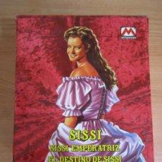 Cine: LOTE 5 VHS SISSI EMPERATRIZ COLECCION VIENA IMPERIAL . Lote 176480190