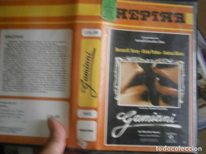 GAMIANI¡¡1 EDICCION UNICA EN TC¡¡VHS¡¡ (Cine - Películas - VHS)