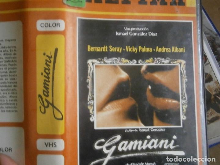 Cine: gamiani¡¡1 ediccion unica en tc¡¡vhs¡¡ - Foto 3 - 176490429