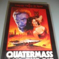 Cine: VHS - 20 - QUATERMASS AND THE PIT (¿QUÉ SUCEDIÓ ENTONCES?) CLÁSICO DE TERROR. Lote 176680503