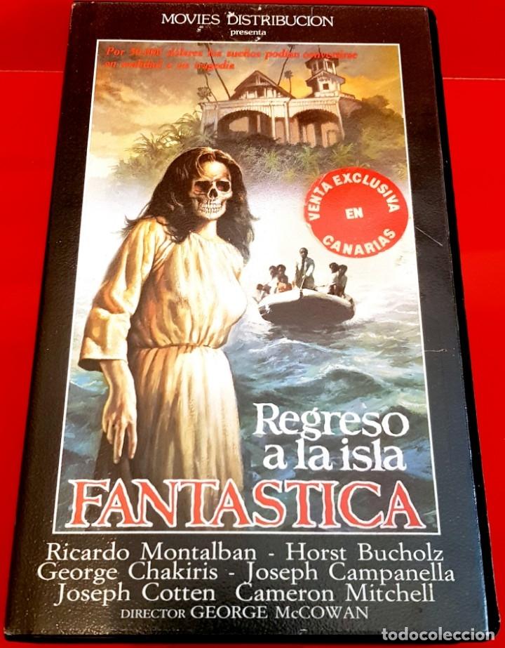 REGRESO A LA ISLA FANTÁSTICA (1978) - GEORGE MCCOWAN - IVS (Cine - Películas - VHS)