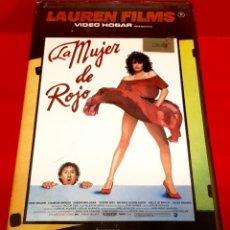 Cine: LA MUJER DE ROJO (1984) - 1ª EDICIÓN LAUREN. Lote 176704215