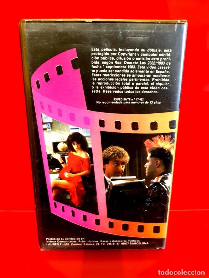 Cine: LA MUJER DE ROJO (1984) - 1ª EDICIÓN LAUREN - Foto 3 - 176704215