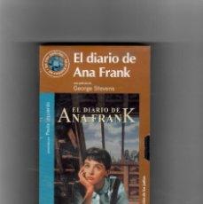 Cine: EL DIARIO DE ANA FRANK - SEGUNDA MANO VHS, NUEVO -. Lote 49342214