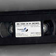 Cine: DOS VIDAS EN UN INSTANTE- VHS SEGUNDA MANO SIN ESTUCHE. Lote 176925580