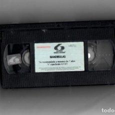 Cine: MANDÍBULAS- VHS SEGUNDA MANO SIN ESTUCHE. Lote 176925982