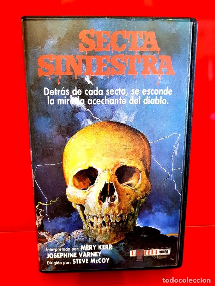 Cine: SECTA SINIESTRA (1982) - RARISIMA TERROR SECTAS UNICA TC - Foto 2 - 177017668