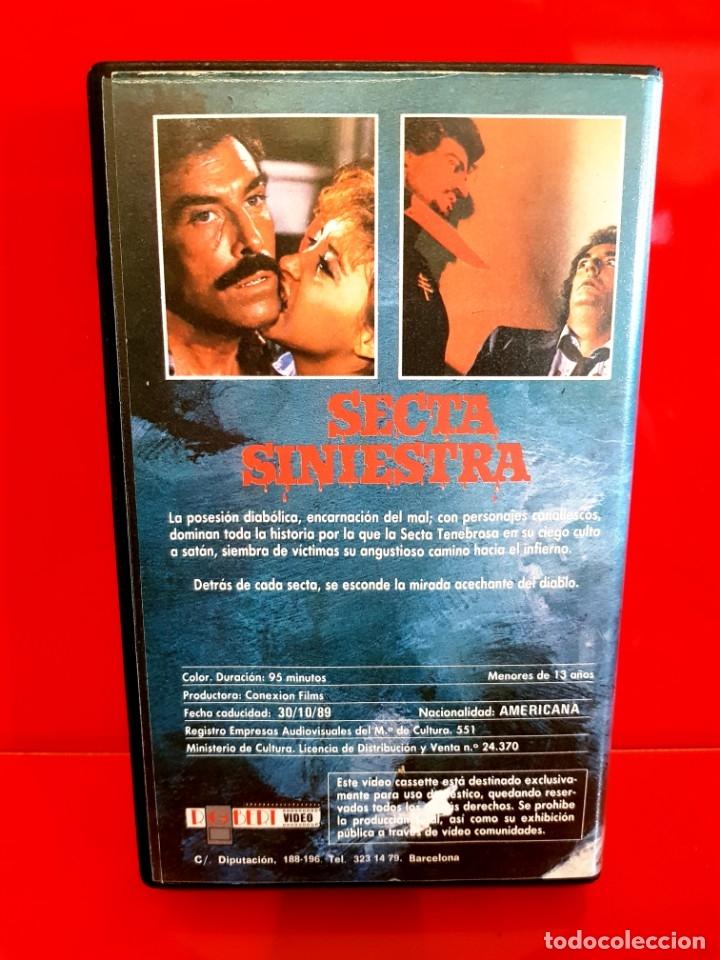 Cine: SECTA SINIESTRA (1982) - RARISIMA TERROR SECTAS UNICA TC - Foto 3 - 177017668