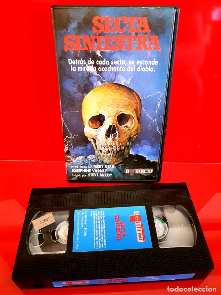 Cine: SECTA SINIESTRA (1982) - RARISIMA TERROR SECTAS UNICA TC - Foto 4 - 177017668
