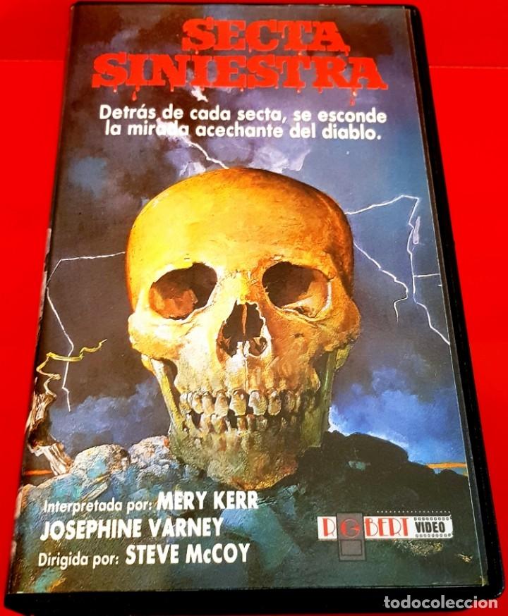 SECTA SINIESTRA (1982) - RARISIMA TERROR SECTAS UNICA TC (Cine - Películas - VHS)