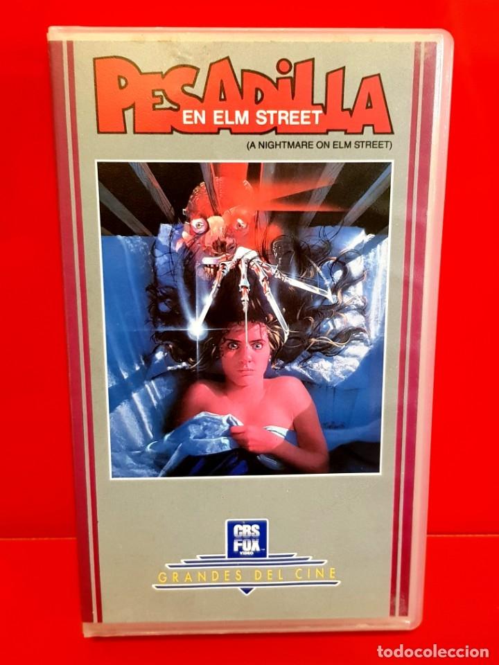 PESADILLA EN ELM STREET (1984) (Cine - Películas - VHS)