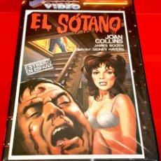 Cine: EL SOTANO (1971) TERROR DESCATALOGADA VIDEO SELECT. Lote 177212828