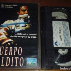 Cine: CUERPO MALDITO - TERROR - VHS - PEDIDO MINIMO 6 EUROS. Lote 177633403