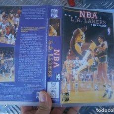 Cine: N B A ,,,,,LAKERS,,VHS . Lote 177890998